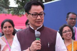 Whole country stands united at this time: Kiren Rijiju