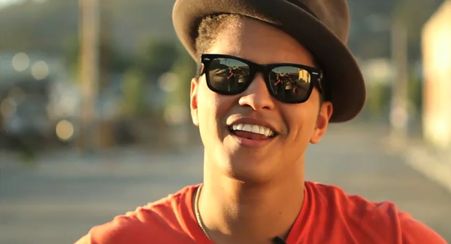 Music is about love: Bruno Mars