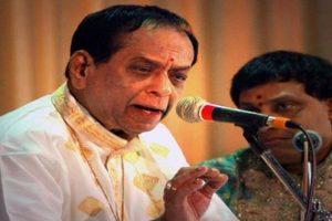 Carnatic music legend Balamuralikrishna passes away