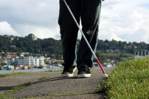 New smart cane for the blind can remotely sense obstacles