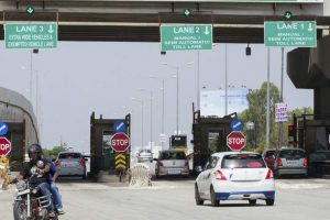 Govt extends suspension of toll charges to Dec 1