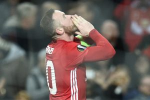 Europa League: Record-man Rooney gives lift as Manchester United win big
