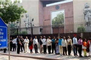 RBI limits old note bank deposits