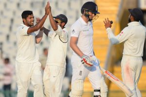 3rd Test: Indian bowlers push England under mat on Day 1