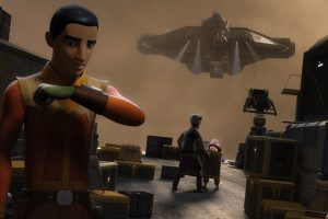 Star Wars Rebels S03e08: The Wynkahthu Job review