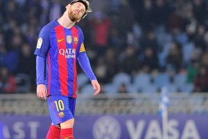 La Liga: Messi rescues point for Barcelona against Real Sociedad