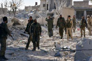 Syria troops retake Aleppo rebel areas, civilians flee
