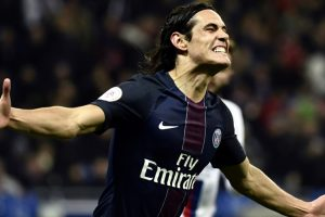 Ligue 1: Nice's lead cut, PSG beat Lyon with Cavani brace