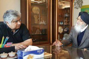 SYL case: Punjab CM Badal meets Harish Salve