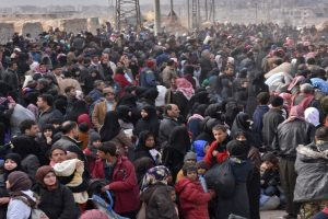 16,000 civilians flee war ravaged Aleppo, says UN