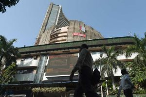 Markets break 7-day losing streak, Sensex ends 61 pts up