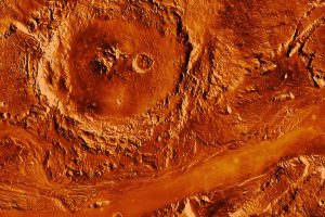 Climate cycles led to water carved features on Mars' surface
