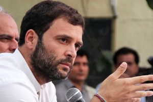 Modi prisoner of his own image, practising TRP politics: Rahul
