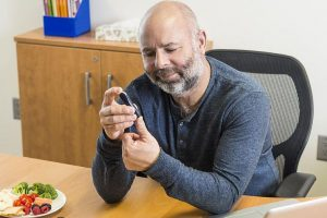 Why could men be more at risk of diabetes?