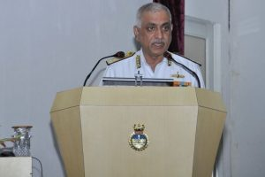 Navy will ensure India's safety, security: Luthra