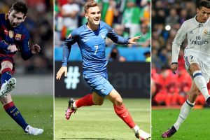 Griezmann joins Ronaldo, Messi in battle to be FIFA's best