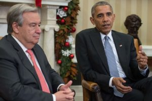 United Nations is 'linchpin' of post-World War II order, says Obama