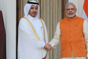 Modi, Qatar PM hold delegation-level talks