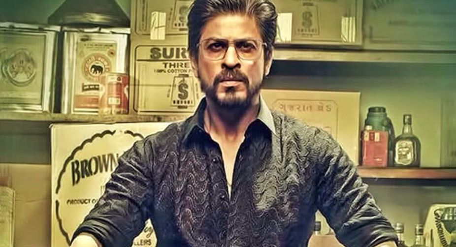 Shah Rukh Khan dons a new look in 'Raees'