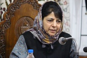 Mehbooba Mufti sees ray of hope in release of stone pelters