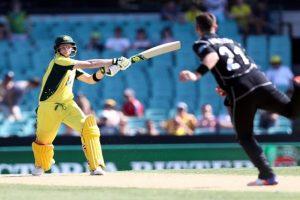 Smith record century powers Australia thump New Zealand