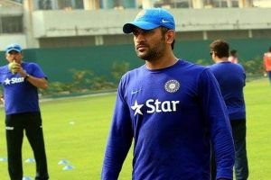 No game time for Dhoni before first ODI against England