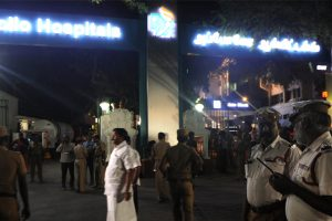 Security beefed up on Kerala-TN border as Jayalalithaa critical