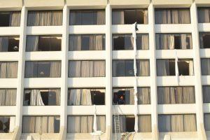 11 die in Karachi's hotel fire, 75 injured
