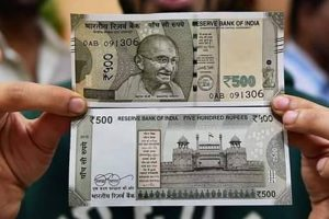 About Rs 5,000 cr spent on printing of new 500 notes