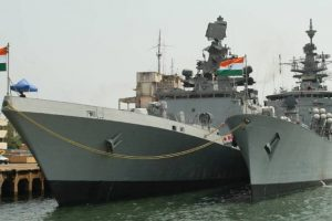 INS Betwa tips over; 2 sailors missing