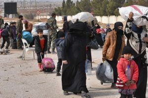Rebel groups prevent evacuated Shias from reaching Aleppo
