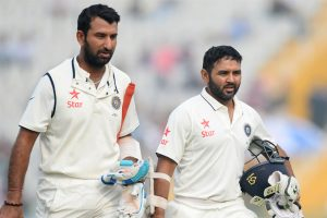 Parthiv Patel set to play in 4th Test, injured Saha rested