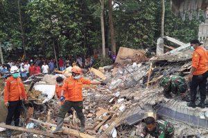 97 killed in Indonesia quake
