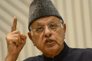 Talks with Pakistan must for Kashmir solution, says Farooq Abdullah