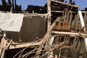 2 rescued as building collapses in Hyderabad