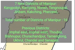Manipur cabinet decides formation of 7 new districts