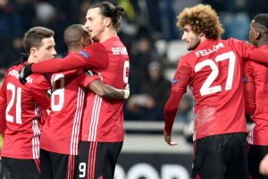 United advance in Europa League, Nice end campaign with win
