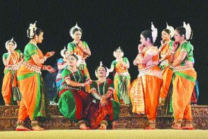 Astounding display of classical dance