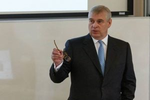 Britain's Prince Andrew denies rift with future king