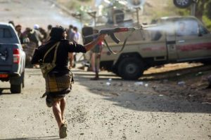 Bomb kills 20 soldiers at Yemen military camp