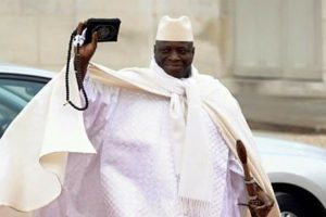 UN demands Gambia's Jammeh hand over power