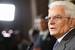 Italian president Mattarella in talks to form transition govt