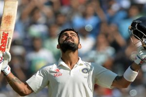 Kohli becomes first Indian skipper to score 3 Test double centuries