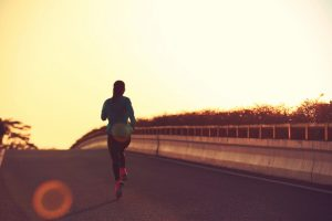 Running is actually good for knee joints