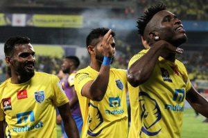 ISL: Kerala Blasters beat Delhi Dynamos in first leg semis
