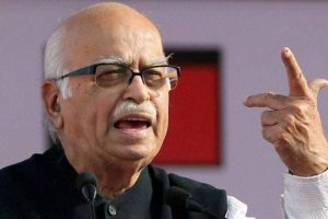 Advani 'feels like resigning' from Parliament