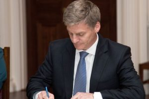 Bill English elected as New Zealand PM