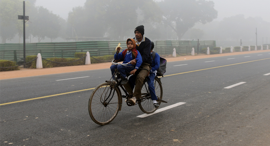 Cold morning in UP