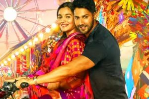 Madhuri teaches Alia, Varun 'Tamma tamma' moves