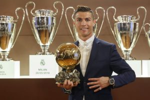Cristiano Ronaldo wins his 4th Ballon d'Or